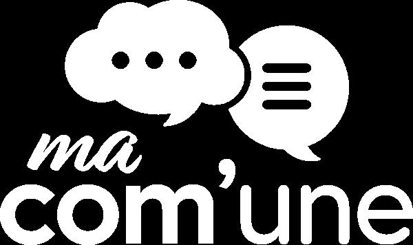 Logo Ma Com'Une blanc